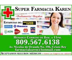 Super Farmacia Karen, S R L