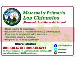 Maternal y Primaria Los Chicuelos
